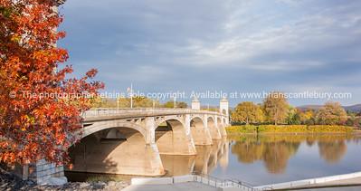 Wilkes-Barre bridge.