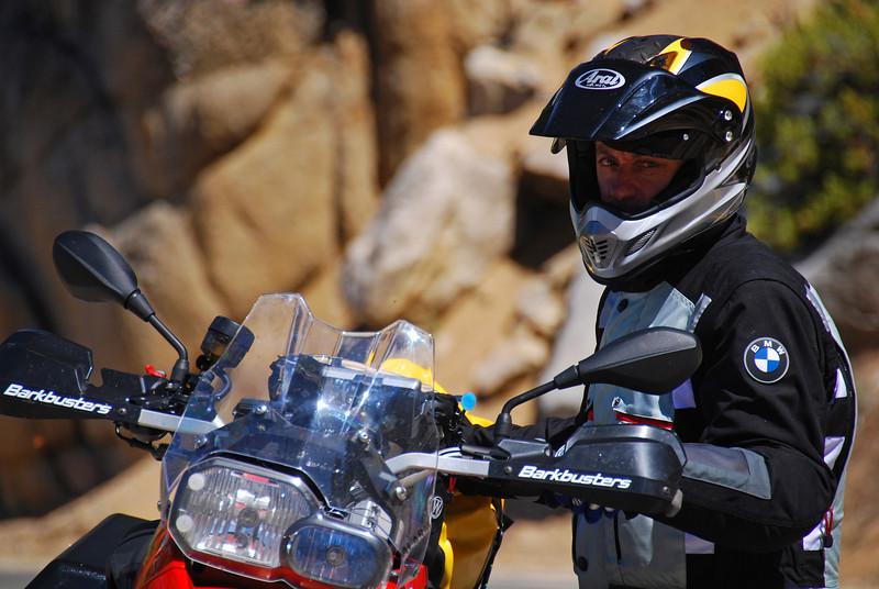 Geoff Mason (AUS),  Sonora Pass,  CA