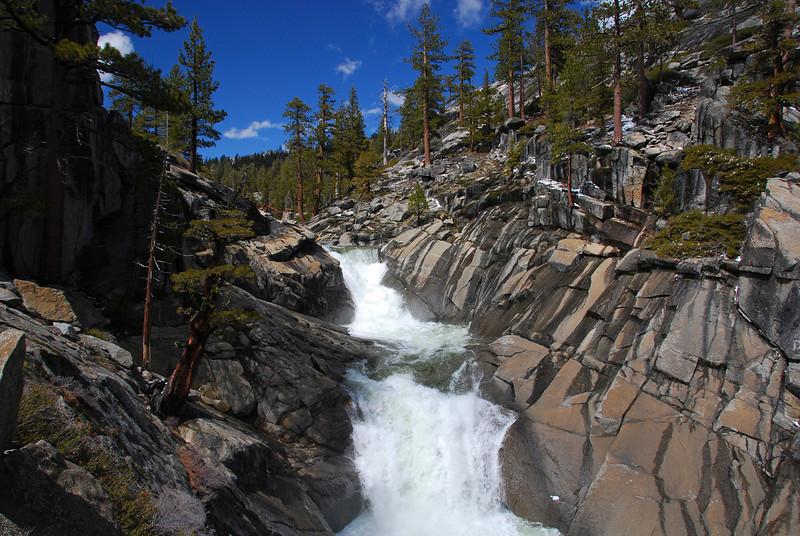 Upper Yosemite Falls, Yosemite NP,  CA
