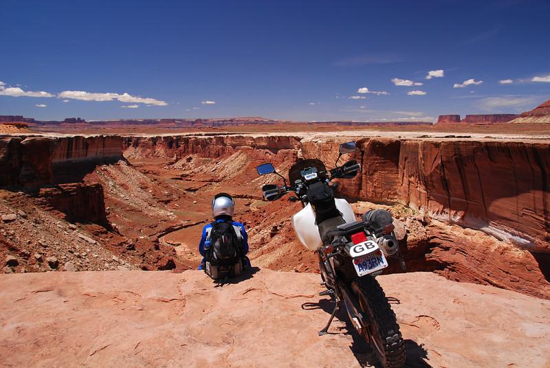 'White Rim Trail', Moab, Utah