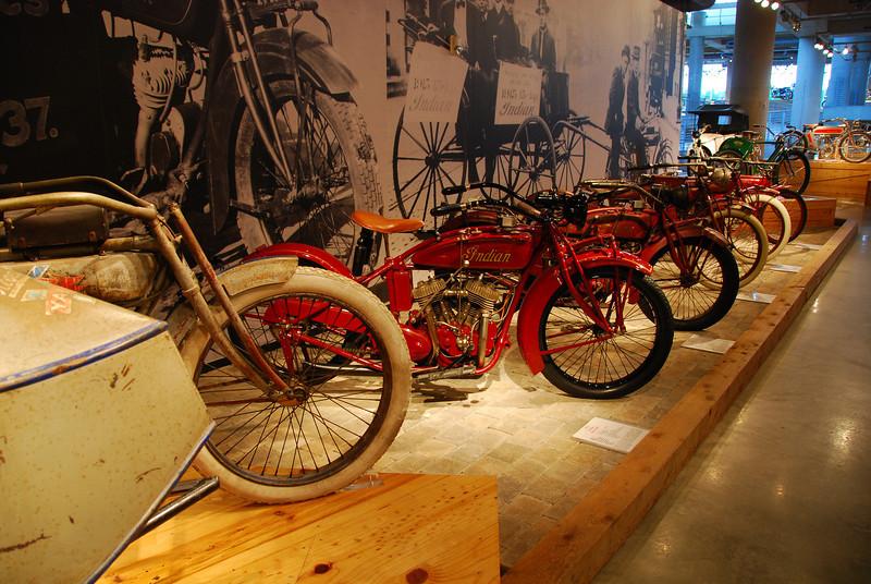 Barbour Motorsports Museum - fantastic!