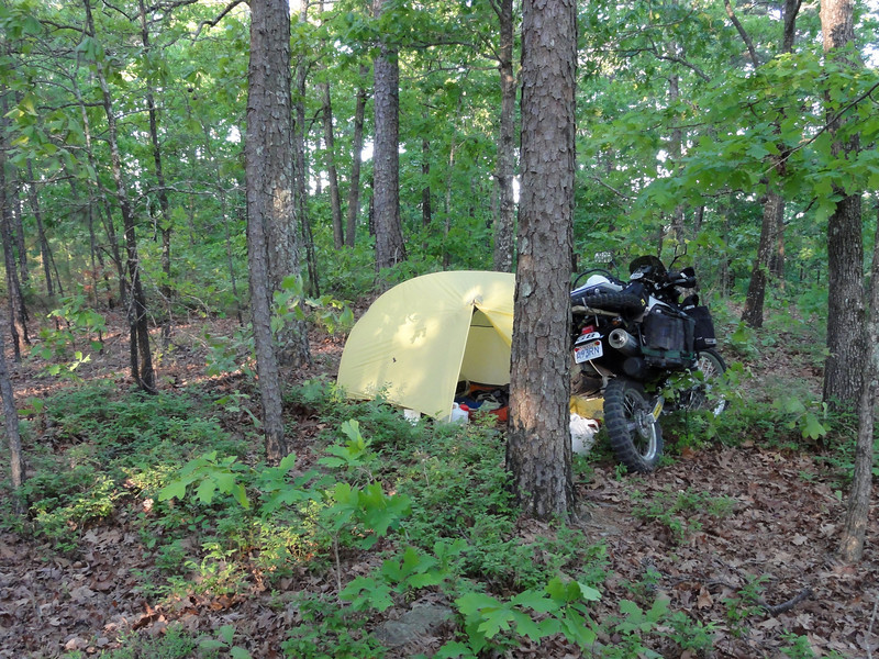 Bushcamping in Alabama
