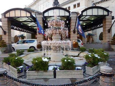 Jefferson Hotel fountain