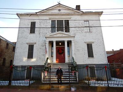 Masonic Hall & Ed Skarsen