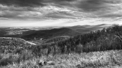 Smokey Mt B&W
