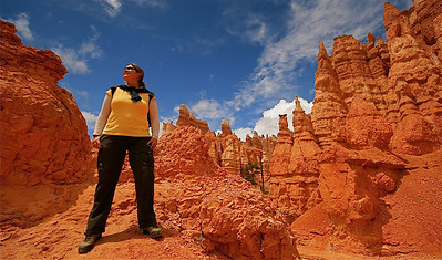 Queens Garden Trail. Bryce Canyon National Park, Utah, USA.