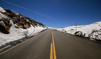 Trail Ridge Road, Rocky Mountain National Park. Colorado, USA.