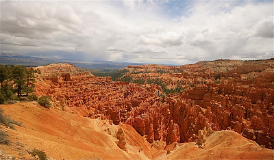Ampiheater in Bryce Canyon National Park. Utah, USA.