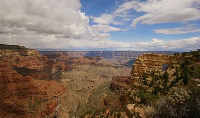 Angels Window Overlook, Grand Canyon National Park. Arizona, USA.