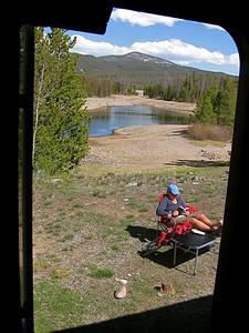 Lazy Day @ Heaten Bay Campground. Frisco, Colorado, USA.