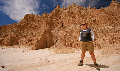 Cathedral Gorge State Park. Nevada, USA.
