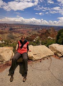 Walhalla Overlook, Grand Canyon National Park. Arizona, USA.