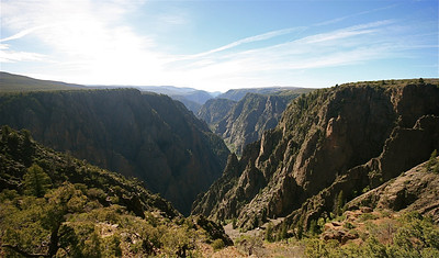 Black Canyon of the Gunnison National Park. Colorado, USA.