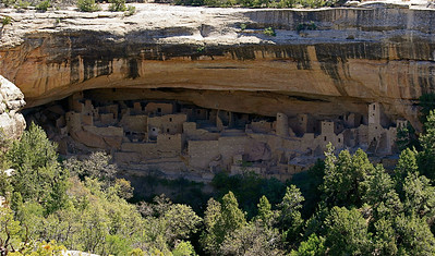 Cliff Palace. Mesa Verde National Park, Colorado, USA.