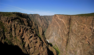 Painted Wall. Black Canyon of the Gunnison National Park. Colorado, USA.