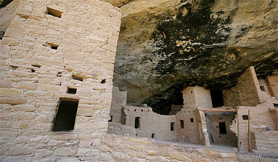 Spruce Tree House. Mesa Verde National Park, Colorado, USA.
