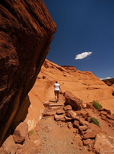 White House Trail, Canyon de Chelly National Monument. Arizona, USA.