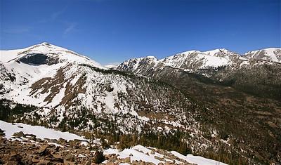 Mummy Range @ Rainbow Curve, Rocky Mountain National Park. Colorado, USA.