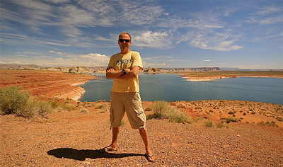 Lake Powel @ Glen Canyon. Wahweap, Arizona, USA.