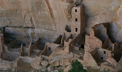 Square Tower House. Mesa Verde National Park, Colorado, USA.