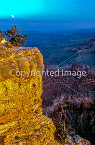 Landscape, Grand Canyon National Park, Arizona, View of Grand Canyon, Sunset, From South Rim.