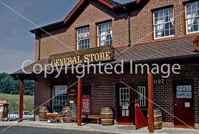 Fairfax County, VA - Suburb of Washington D.C., General Store, Convenience Store Front