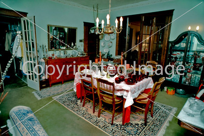 Pittsburgh, PA, Interior Showcase Home, Antique Dealers Dining Room, Single Family House.
