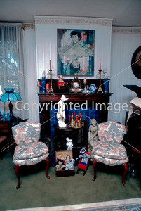 Pittsburgh, PA, Interior Showcase Home, Antique Dealers Living Room, Single Family House.