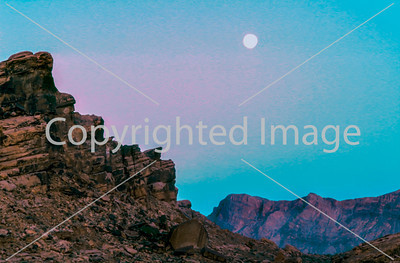 Landscape, Las Vegas, Nevada, U.S.A.- The Moon in the Desert, The Valley of Fire.
