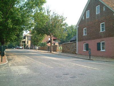 Winston Salem - Old Salem empty street