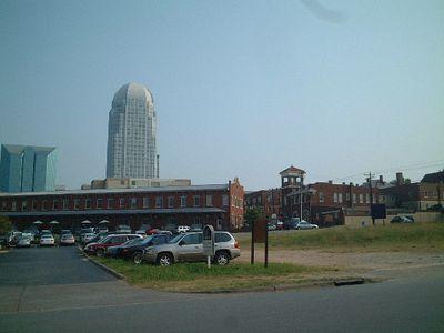 Winston Salem - Wachovia building