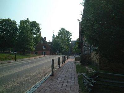 Winston Salem - Old Salem street
