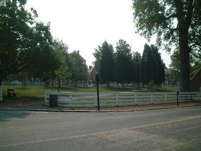 Winston Salem - Old Salem village green
