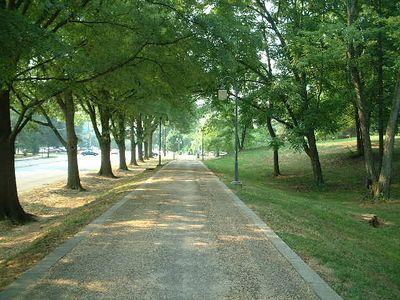 Winston Salem - path to Old Salem