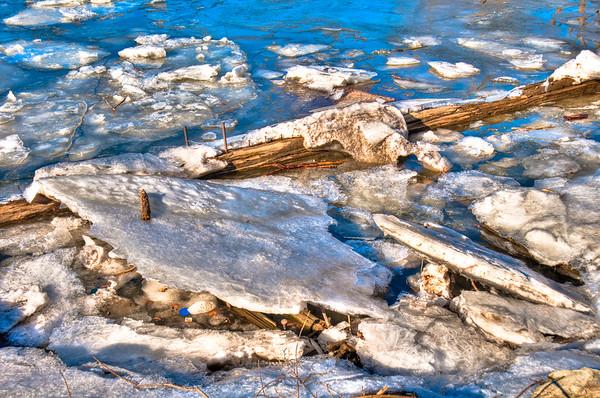 Hudson Ice Garbage