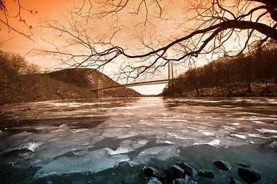 Hudson River near Bear Mountain Bridge