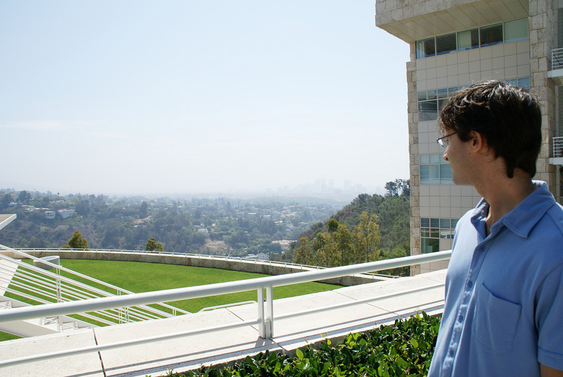 David at the Getty Center