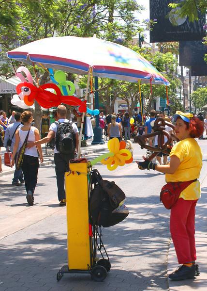 Balloons at 3rd Street Promenade