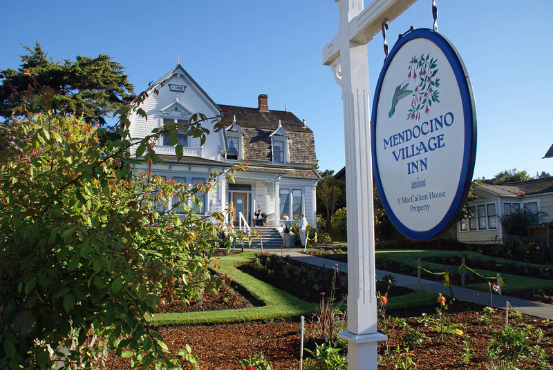 This is the B&B in which we stayed during our visit to Mendocino.