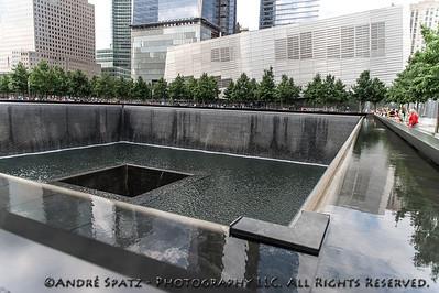 The 9/11 memorial