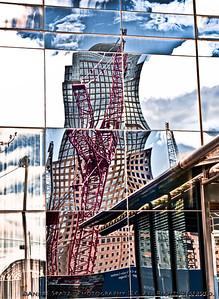 World Trade Center construction perspective