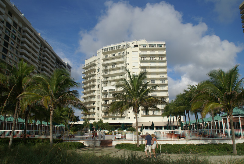 Sea View hotel from the beach