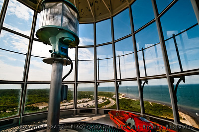 From the top of the Montauk Point Lighthouse