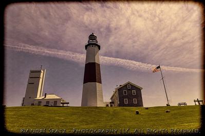 Montauk Lighthouse - retro