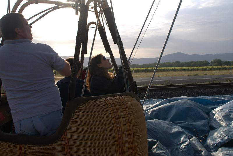 Early morning Balloon experience.