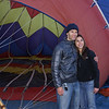 Early morning Balloon experience.  Lauren & David