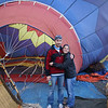 Early morning Balloon experience.  Ben & Cristina