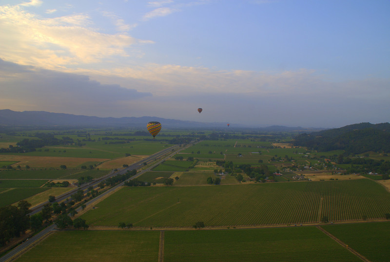 Early morning Balloon experience.