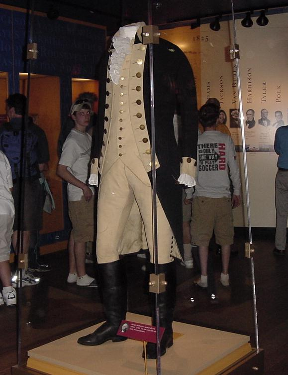 Uniform of General George Washington.