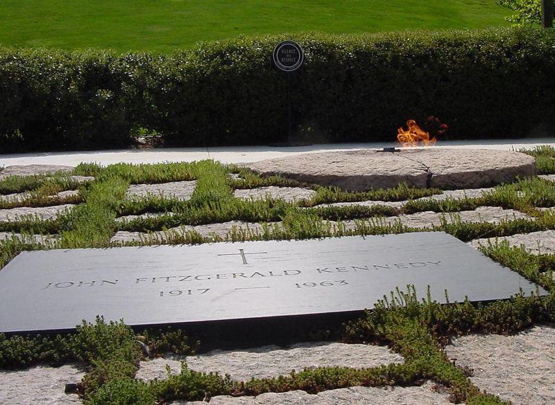 Gravesite of JOHN F. KENNEDY